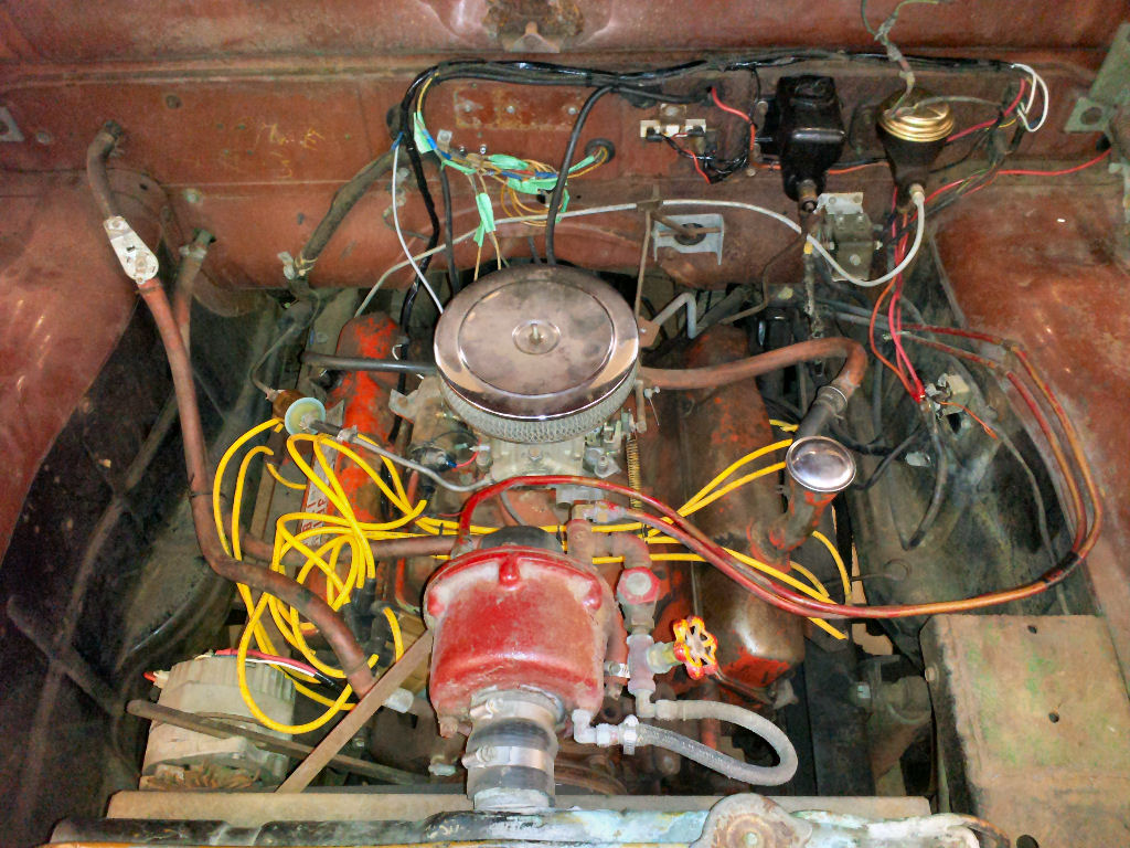 My 1964 Dodge W500 Power Wagon Maxim Fire Truck Aimco Lift Pump Wire Diagram Using Mopar Norms Wiring Diagrams To Help Ive Gone Over The Three Dash Connectors And Figured Out What Wires Were In Accessory Connector
