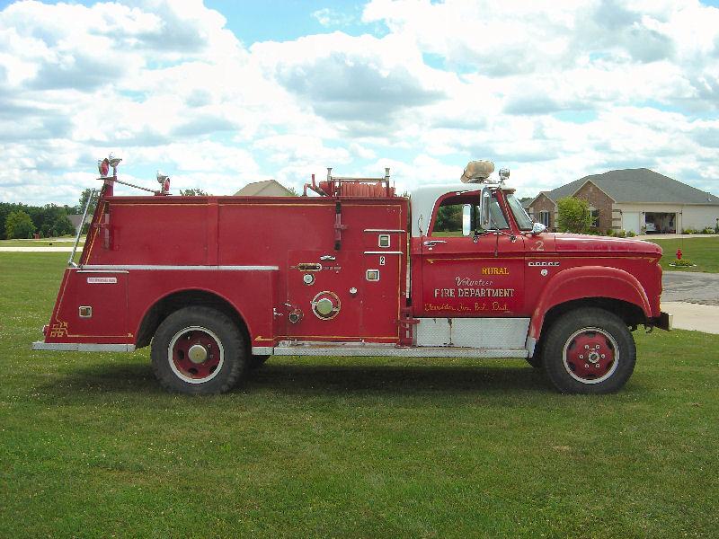 dodge  power wagon maxim fire truck
