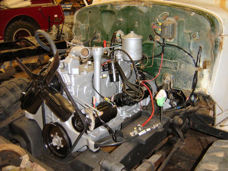 Dodge M37 Heater  Facias
