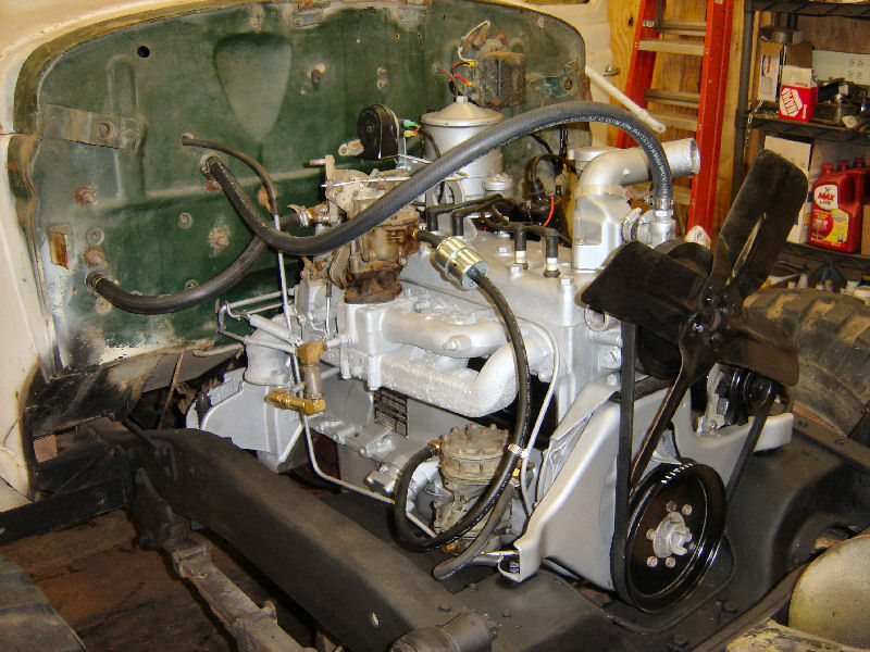 M37 Engine Build for Power Wagon